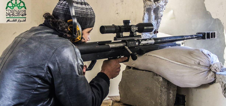 صورة عملية أمنية لأحرار الشام ضد قسد بريف حلب