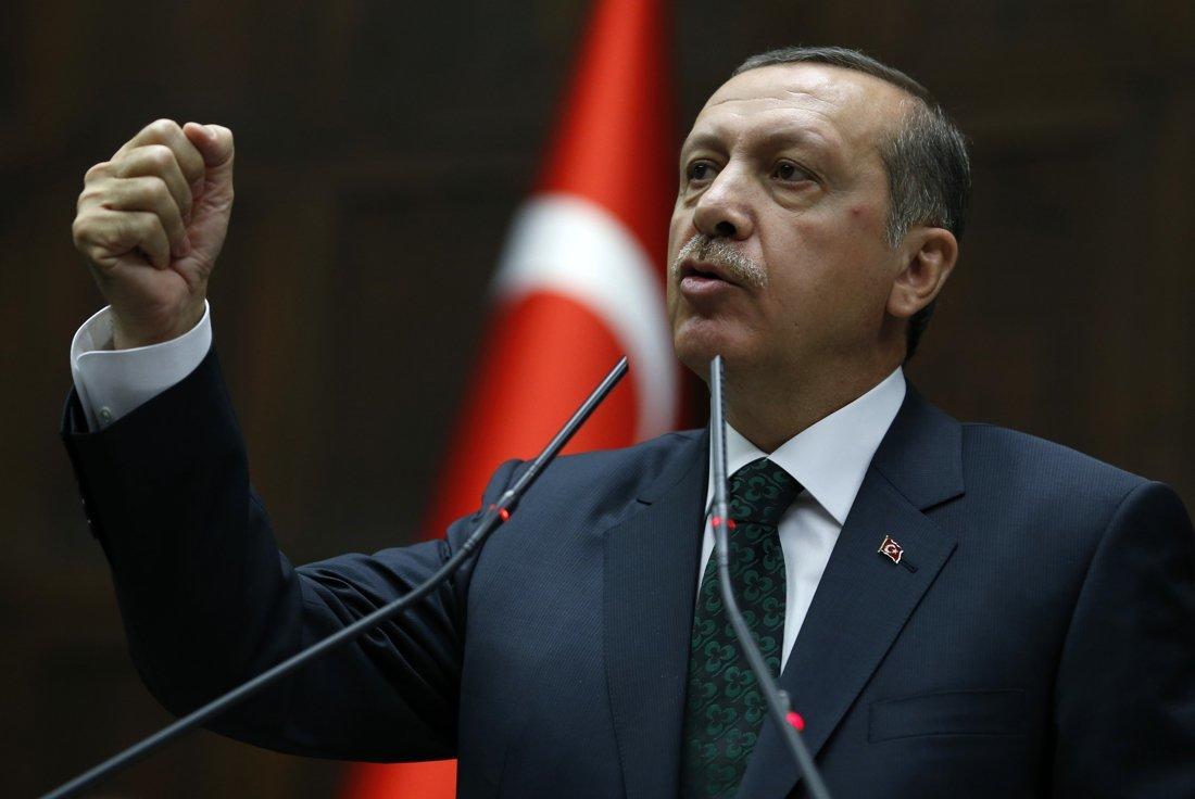 صورة أردوغان يشبه تصرفات ألمانيا بالحقبة النازية