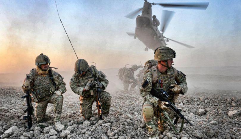 صورة تنظيم الدولة: إفشال إنزال جوي أمريكي كردي بريف الرقة