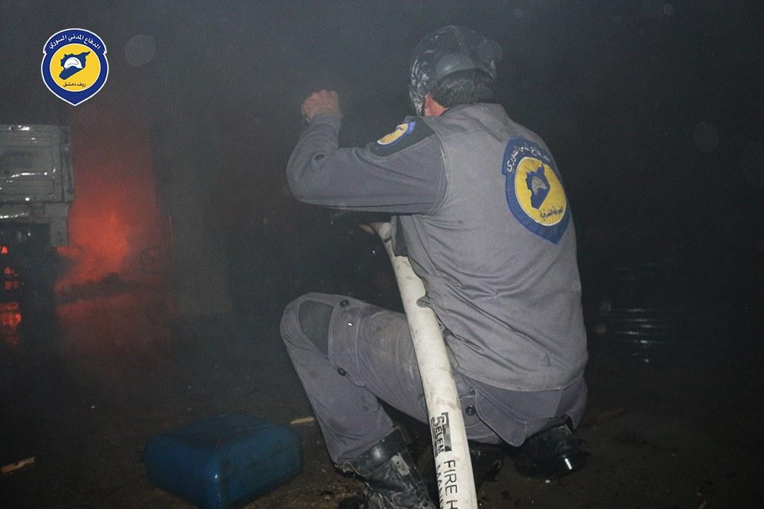 صورة 42 اعتداء على الدفاع المدني والطبابة بشهر واحد
