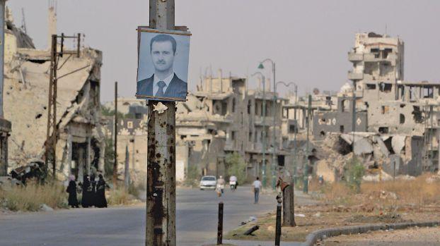"""صورة """"نظام الأسد"""" عندما يفسد الدلال الفاسد!"""