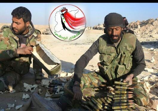 """صورة قتلى بين عناصر """"الدفاع الوطني"""" في صراعات داخلية بدير الزور"""