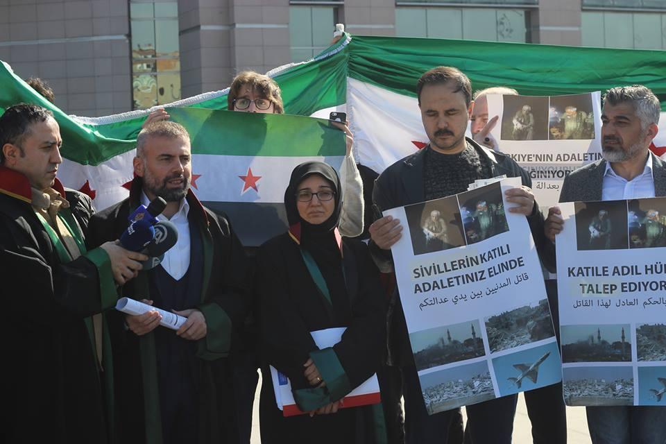 صورة محامون أتراك يرفعون دعوى قضائية ضد طيار الأسد