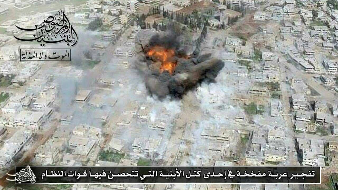 صورة الأسد يحاول التقدم في درعا والثوار يردون بالمرحلة الرابعة