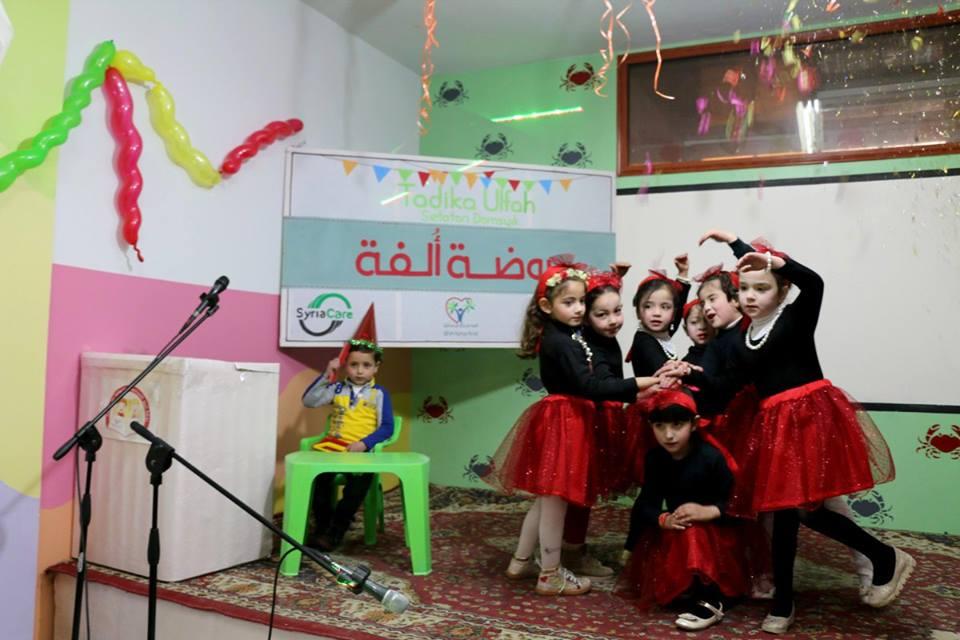 صورة رغم الحرب..مشروع تربوي تعليمي للأطفال جنوبي دمشق