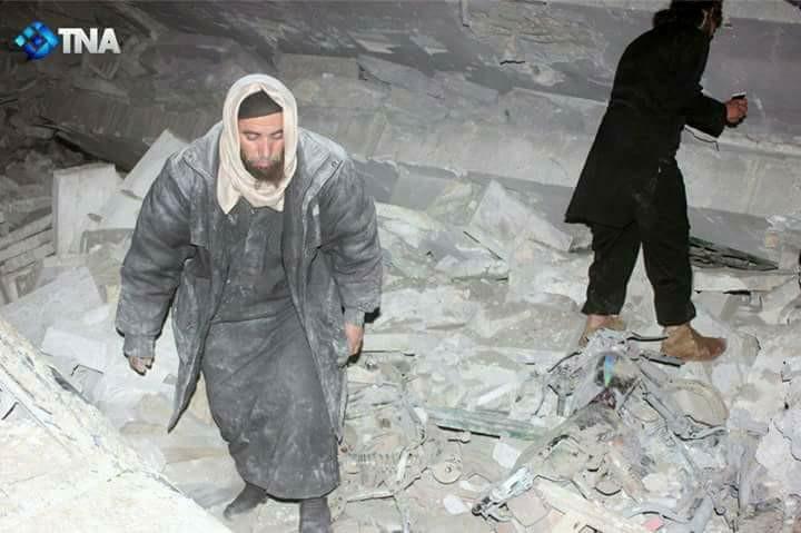 """صورة الجيش الأمريكي يتبنى هجوم """"الجينة"""" بريف حلب"""