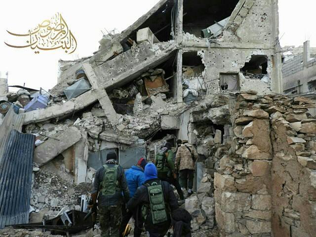 صورة الجيش الحر يحبط هجمات الأسد المضادة بدرعا
