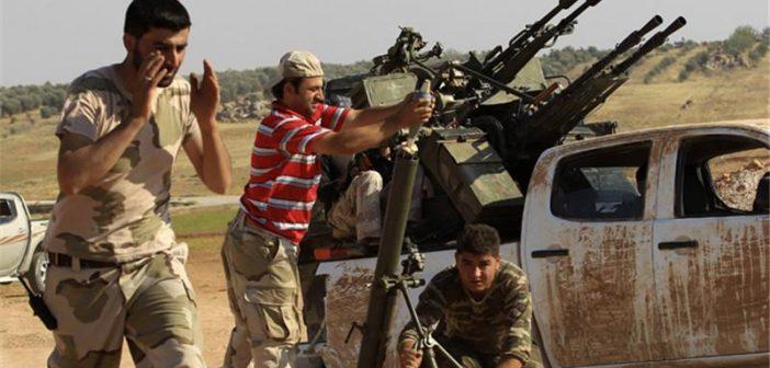 صورة حوش حماد جنوبي سوريا خالي من تنظيم الدولة