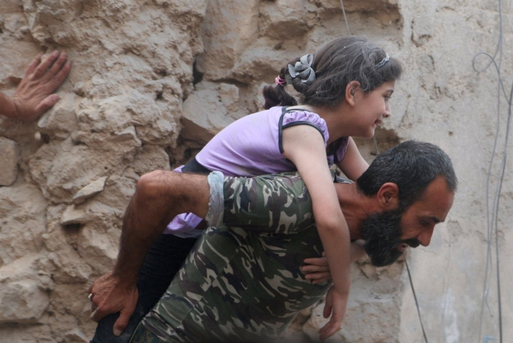 صورة ملايين الأطفال السوريين مصابون بأزمات
