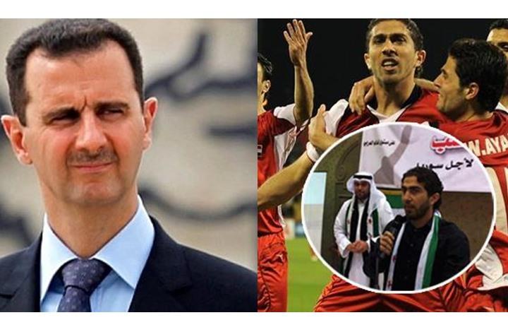 صورة منتخب الأسد يستدعي مهاجم موالي للثورة للعب بصفوفه