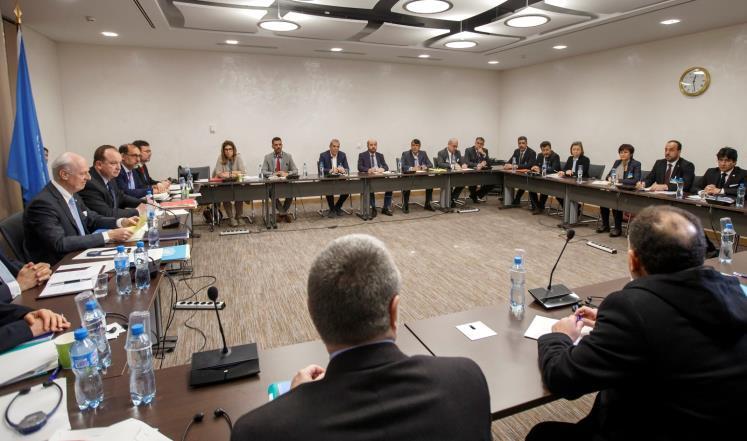 صورة صفر نتائج..مفاوضات جنيف تقترب من نهايتها