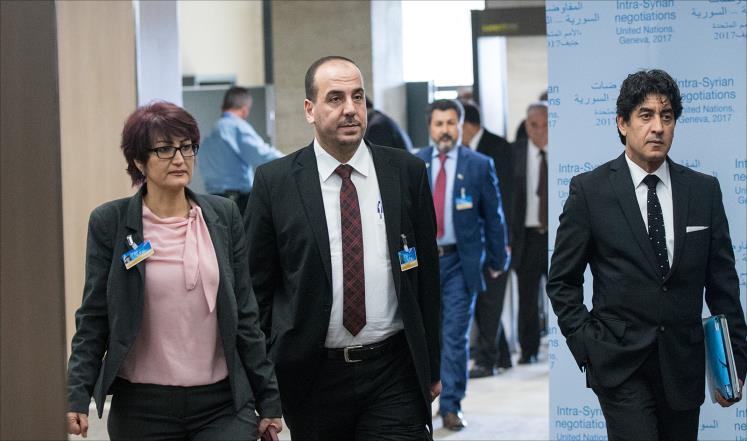 صورة جنيف 5..المعارضة تطالب والأسد يعاند