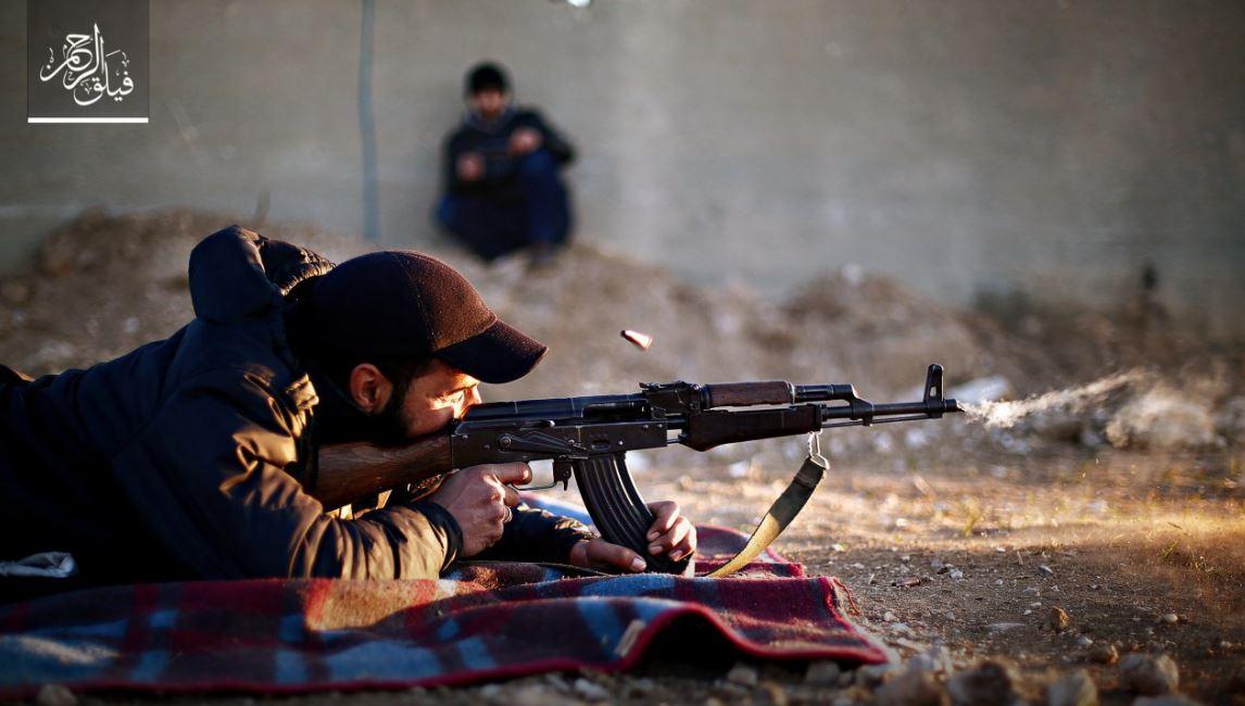 صورة فيلق الرحمن: نلتزم قوانين الحرب وسنحمي السفارات