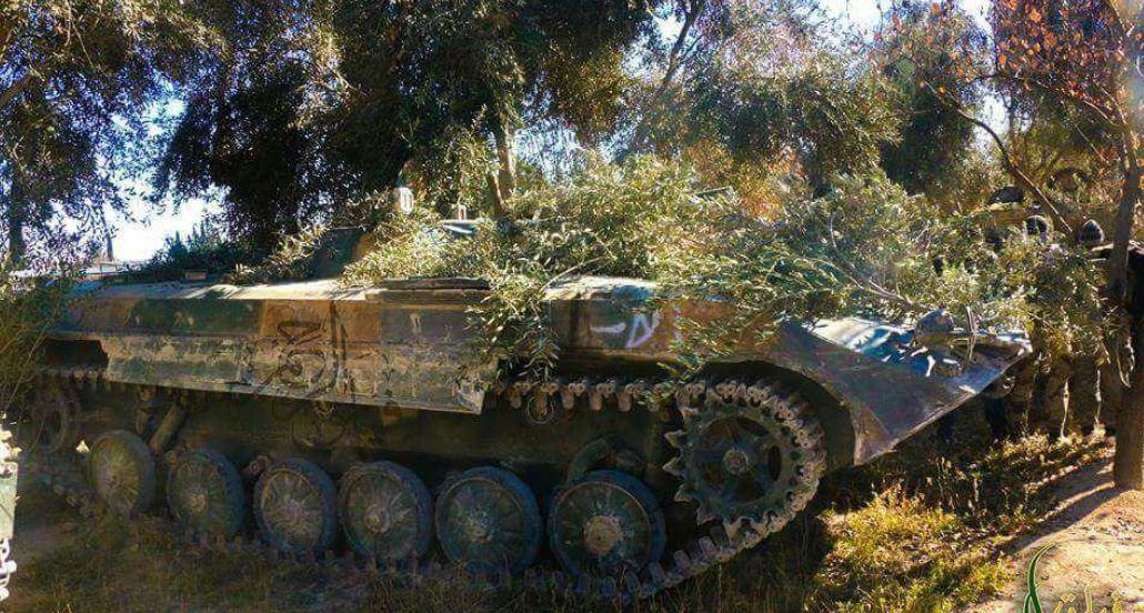 صورة وكالة: تقنيات ثوار دمشق هزمت الأسد والأخير يستجدي حزب الله