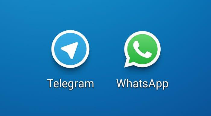 صورة واتساب وتليجرام يصلحان عيوبا في تطبيقات التراسل الفوري