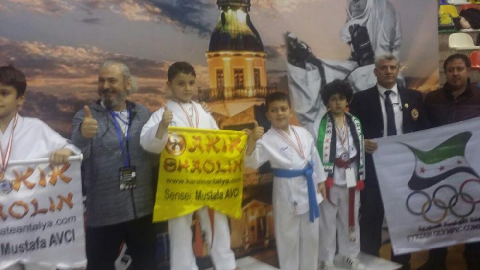صورة سورية تحرز 3 برونزيات في بطولة الكاراتيه الدولية