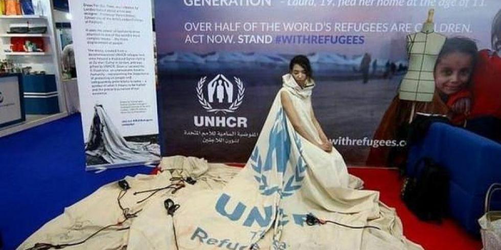 """صورة خيمة لعائلة سورية بالزعتري """"أيقونة"""" تجول العالم"""