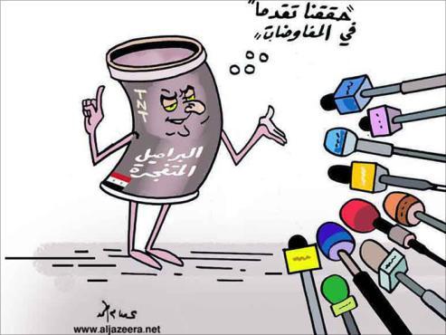 صورة خلال شهر..الأسد خرق اتفاق التهدئة بـ 502 برميل متفجر!