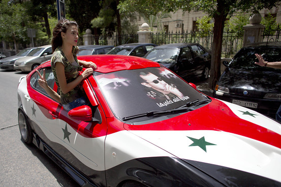 صورة حدائق حمص..نوادي ليلية لممارسة الفاحشة