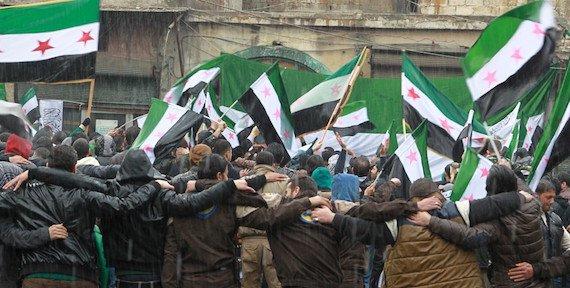 صورة الرقم سبعة يدخل على الثورة السورية