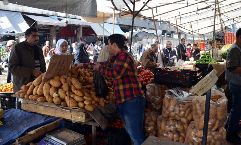 صورة اقتصاد الأسد ع الحديدة..القمح روسي والبطاطا مصرية