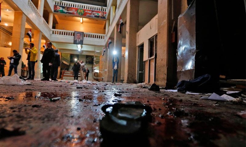 صورة تنظيم الدولة يتبنى هجمات العدلي والربوة
