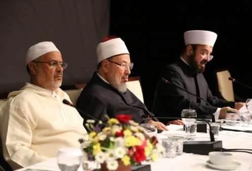 صورة اتحاد علماء المسلمين يستنكر الممارسات الهولندية ضد تركيا
