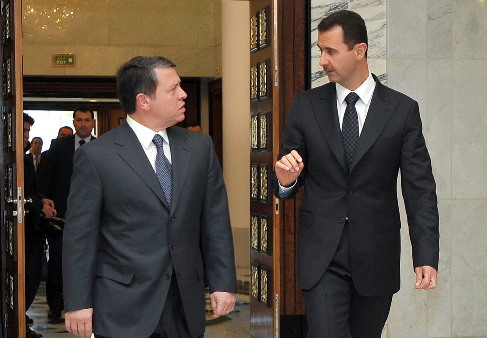 صورة الأسد يهاجم الأردن والأخير يرد
