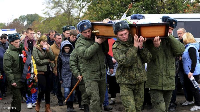صورة مصرع جنديين روسيين في هجوم للمعارضة