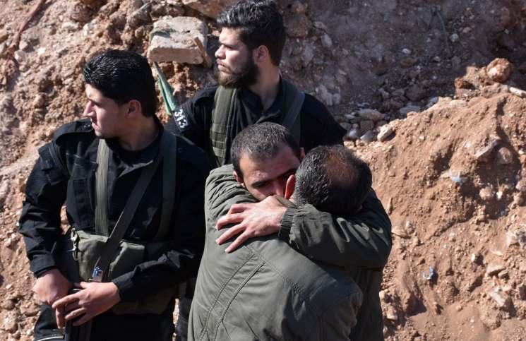 صورة الجيش الحر يعلن غربي درعا منطقة عسكرية