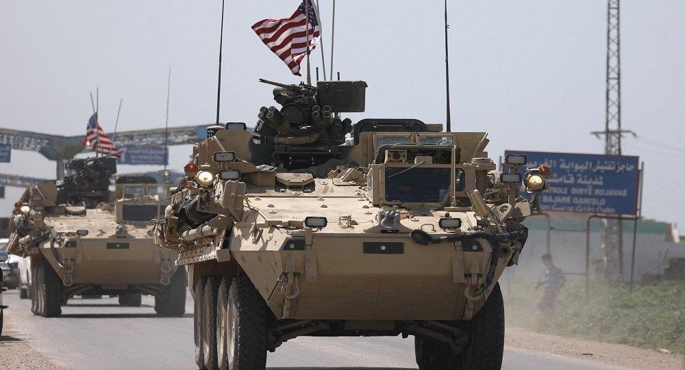 صورة قوات أمريكية تصل القامشلي وعامودا (فيديو)