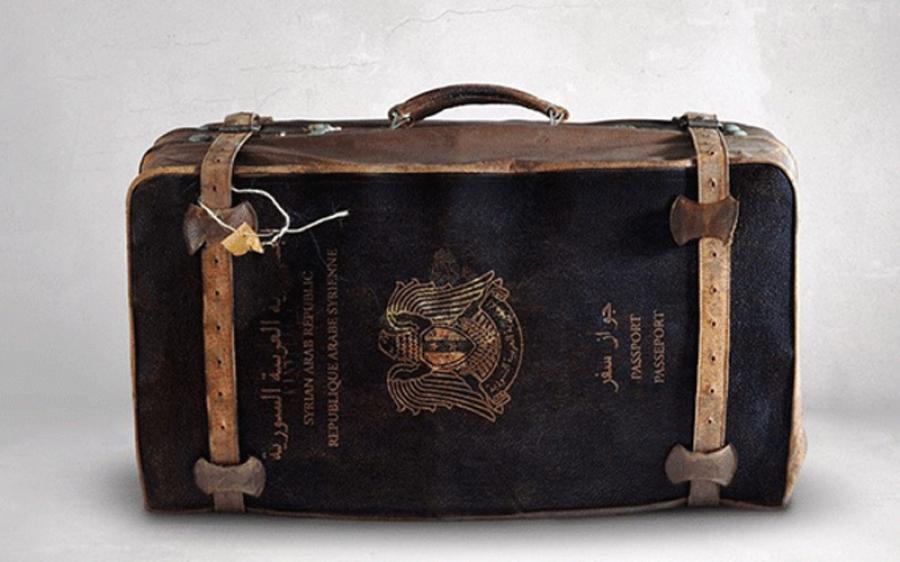 صورة الأسد يحارب المهجرين..جواز السفر بـ 800$