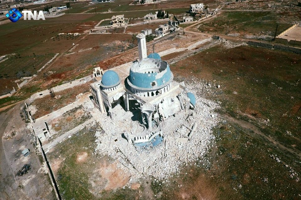 صورة 114 اعتداء على مراكز مدنية خلال شهر