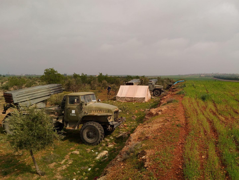 صورة الروس والإيرانيون يعيدون معارك حماة لنقطة الصفر