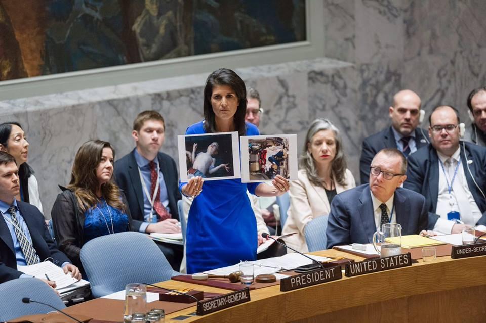 صورة واشنطن: سنتحرك وحدنا لو فشلت مساعي مجلس الأمن