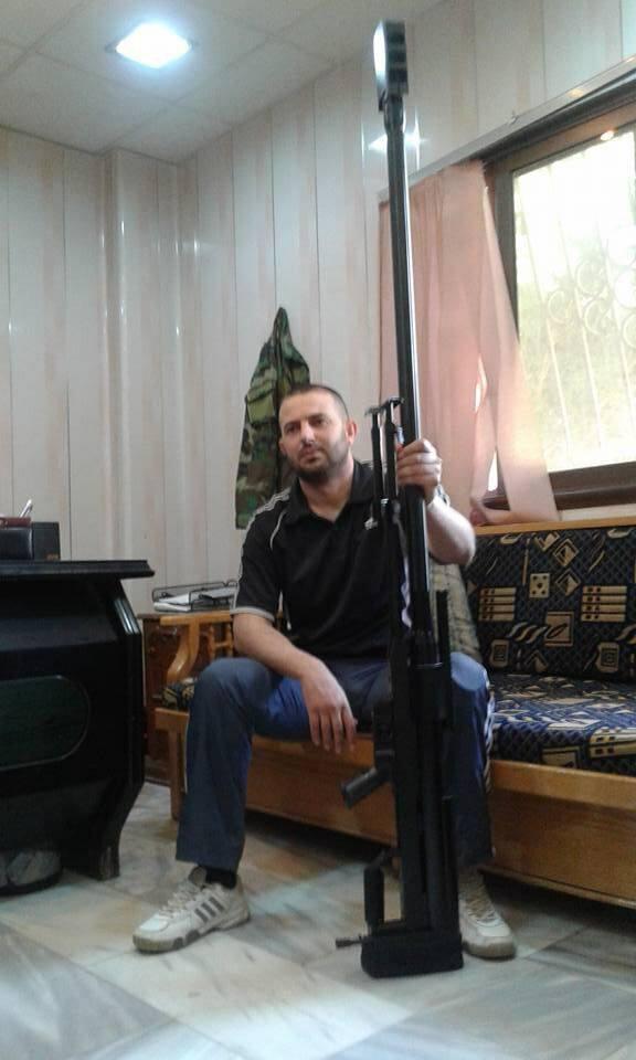 """صورة مصرع قائد """"قوات الغيث"""" في الفرقة الرابعة على يد ثوار دمشق"""