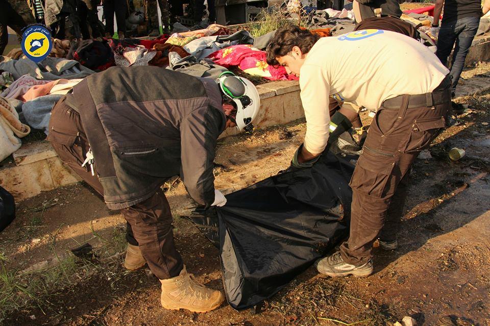 """صورة أحرار الشام: الأسد أول المستفدين من تفجير """"الراشدين"""""""