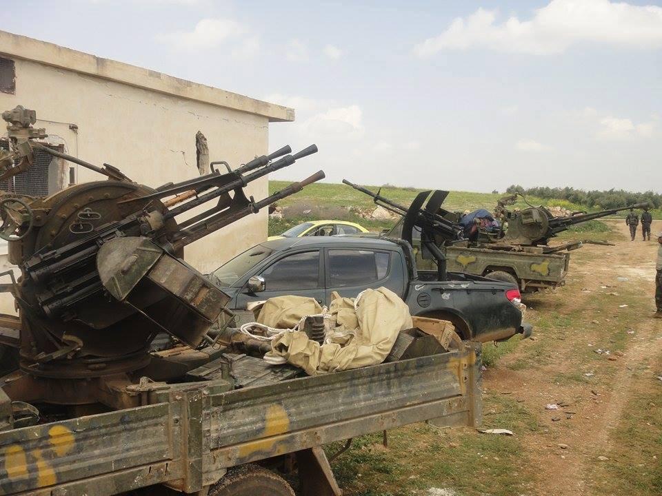 """صورة الأسد والميليشيات يسيطرون على """"صوران"""""""