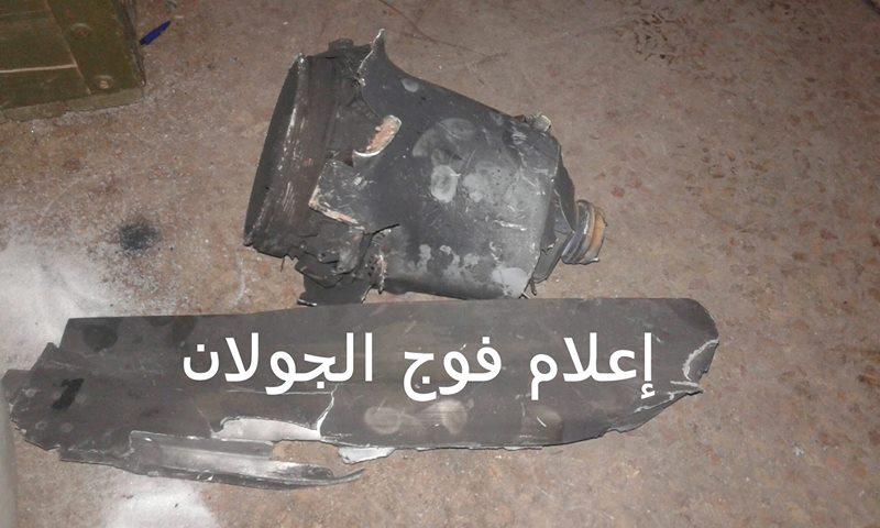 """صورة غارات إسرائيلية تضرب قوات الأسد وميليشيا لـ """"مخلوف"""""""