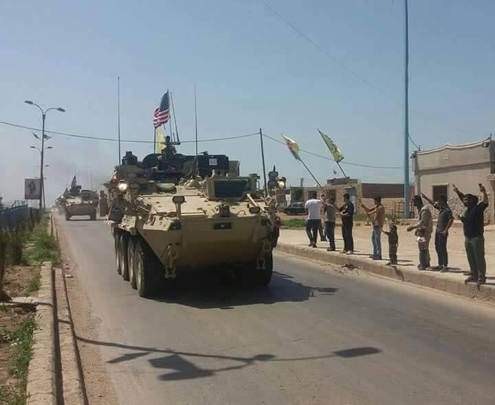 صورة واشنطن تعلن سبب تسييرها لدوريات حدودية بسوريا
