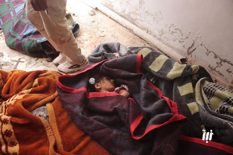 صورة 11 مدني ضحية براميل الأسد في درعا