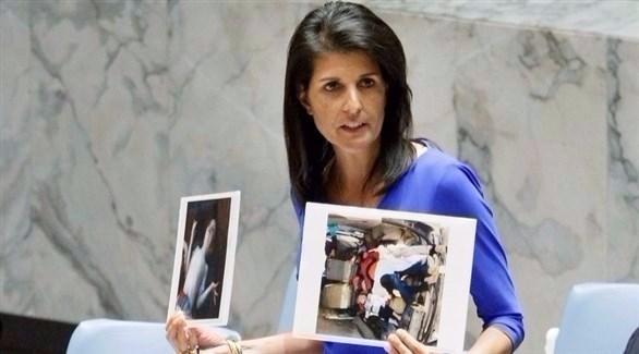 صورة مناوشات بين أعضاء مجلس الأمن حول الأسد