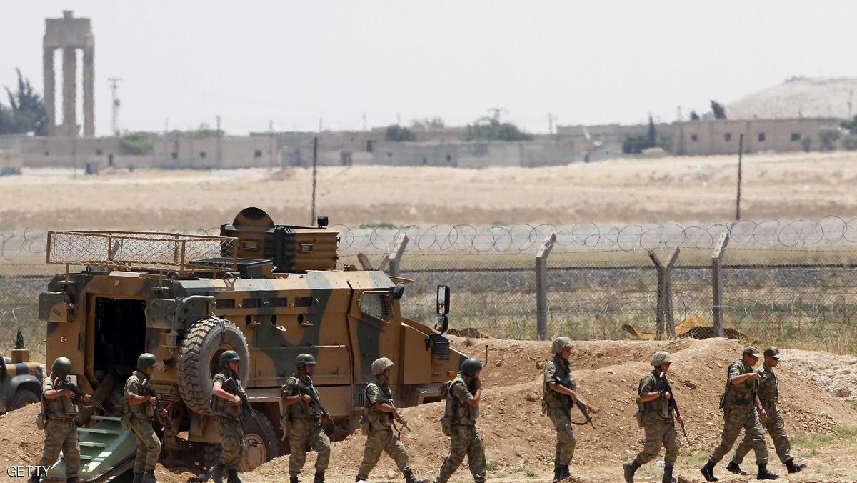 صورة الحدود السورية..قصف متبادل بين الجيش التركي والأكراد