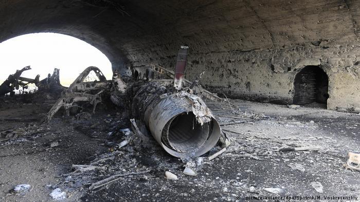 صورة ترمب يراسل قائد البارجة التي ضربت الأسد..ماذا قال له؟