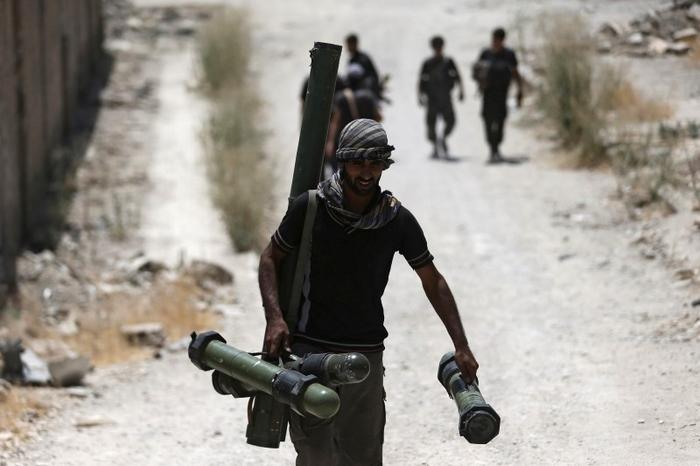 صورة تنظيم الدولة يهاجم قاعدة التنف
