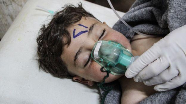 """صورة الفحوصات تؤكد استخدام الأسد لـ """"السارين"""" في خان شيخون"""