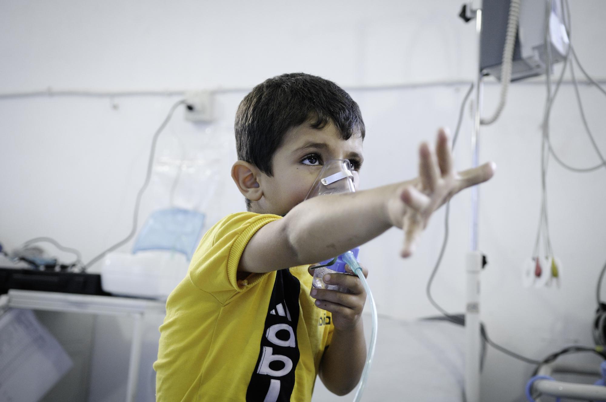 صورة تقرير حقوقي يؤكد استخدام الأسد للسلاح الكيماوي مجددا