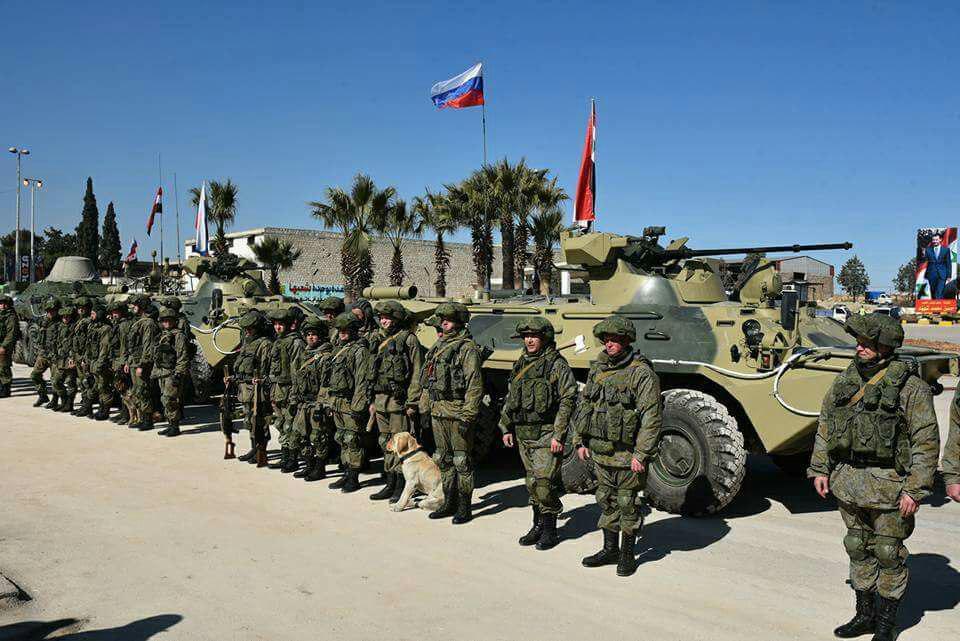 صورة روسيا تتوجه لقيادة معارك برية بسوريا