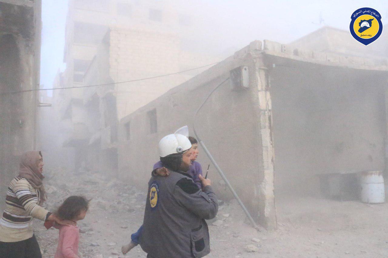 صورة الأسد والروس قتلوا 98 مدنيا انتقاما من واشنطن