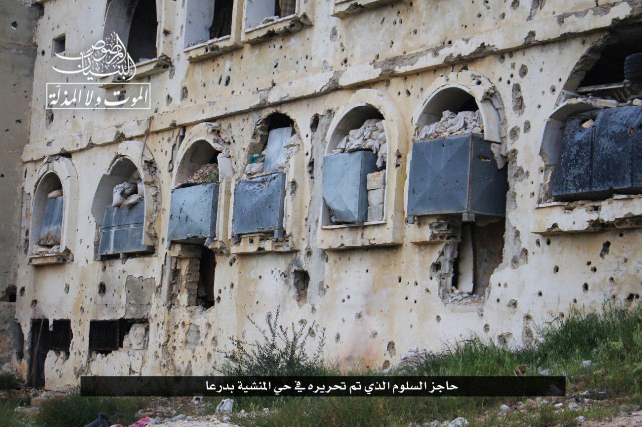 صورة انهيارات متتالية للأسد على يد ثوار درعا